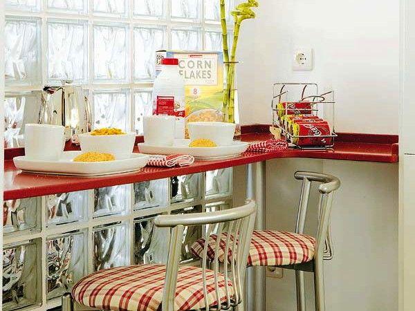 угловая кухня с барной стойкой фото 2