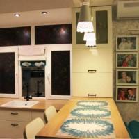 угловая кухня с барной стойкой фото 21