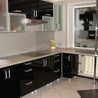 угловая кухня с барной стойкой фото 27