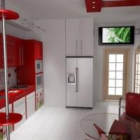 угловая кухня с барной стойкой фото 46