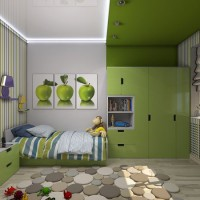 зонирование детской комнаты фото 18
