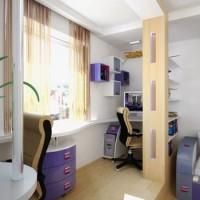 зонирование детской комнаты фото 21