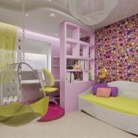 зонирование детской комнаты фото 24