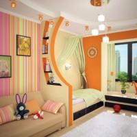 зонирование детской комнаты фото 27
