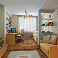 зонирование детской комнаты фото 28