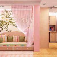 зонирование детской комнаты фото 31
