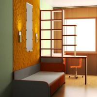 зонирование детской комнаты фото 32