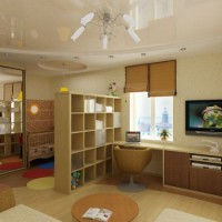 зонирование детской комнаты фото 33