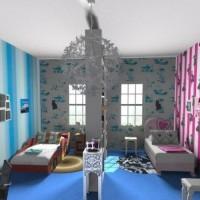 зонирование детской комнаты фото 34