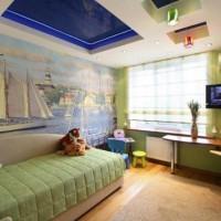 зонирование детской комнаты фото 38