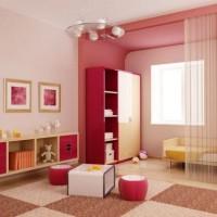 зонирование детской комнаты фото 40