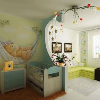 зонирование детской комнаты фото 41