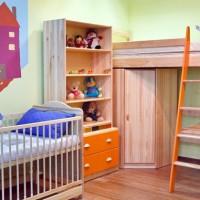 зонирование детской комнаты фото 46