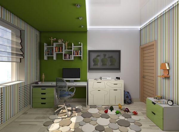 зонирование детской комнаты фото 5