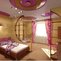 зонирование детской комнаты фото 50