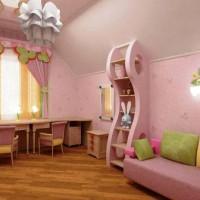 зонирование детской комнаты фото 51