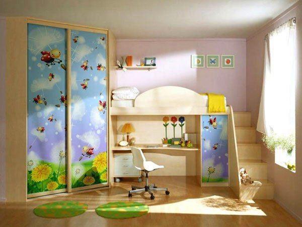 зонирование детской комнаты фото 7