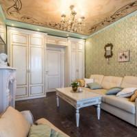 гостиная в классическом стиле фото 11