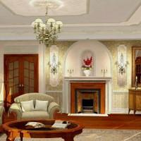 гостиная в классическом стиле фото 19