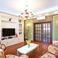 гостиная в классическом стиле фото 2