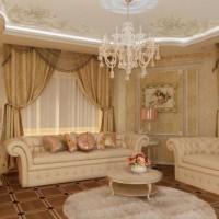 гостиная в классическом стиле фото 24