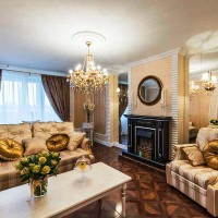 гостиная в классическом стиле фото 5