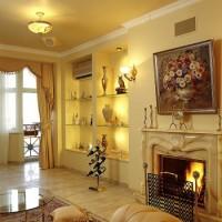 гостиная в классическом стиле фото 7