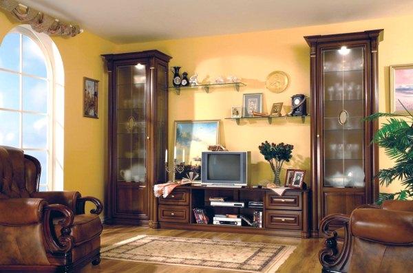 Гостиная в классическом стиле мебель фото