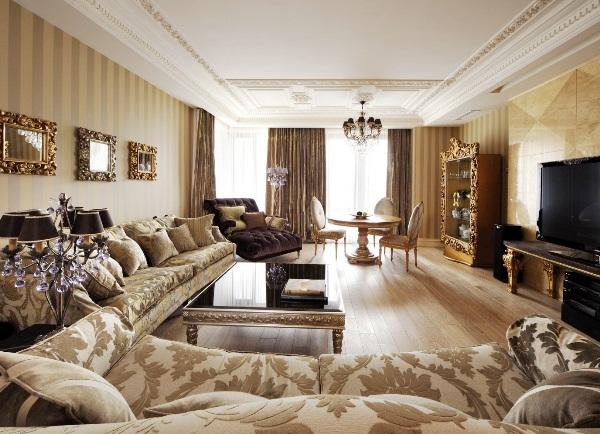 гостиная в стиле классика