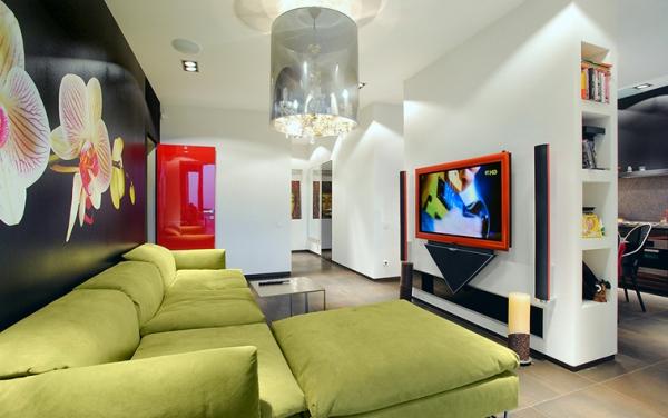 гостиная в стиле модерн фото 11