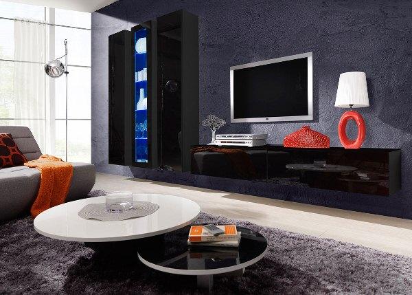 гостиная в стиле модерн фото 14