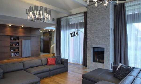 Шторы в стиле модерн в гостиную фото