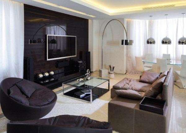 гостиная в стиле модерн фото 20