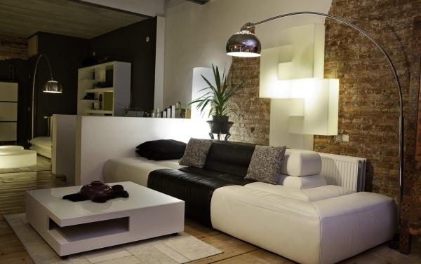 гостиная в стиле модерн фото 3