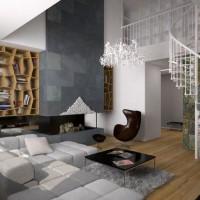 гостиная в стиле модерн фото 39