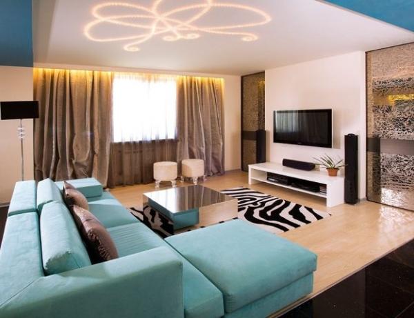 гостиная в стиле модерн фото 5