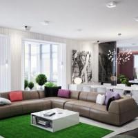 гостиная в стиле модерн фото 52