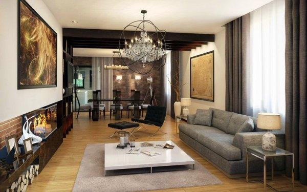 идеальная гостиная