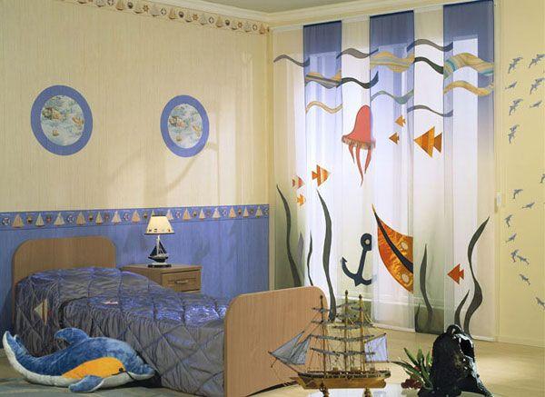 шторы для детской для мальчика фото 3