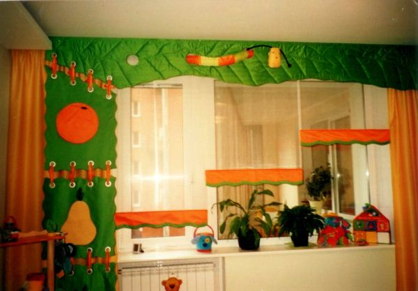 шторы для детской для мальчика фото 5