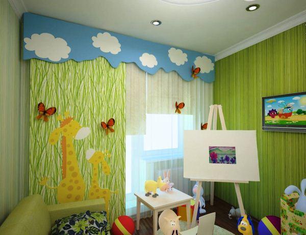 шторы для детской для мальчика фото 6