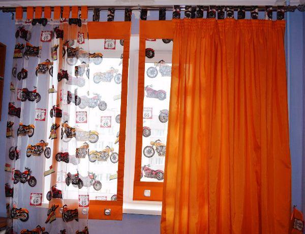 шторы для мальчика фото