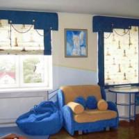 шторы в детскую комнату для мальчика фото 14