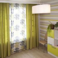 шторы в детскую комнату для мальчика фото 36