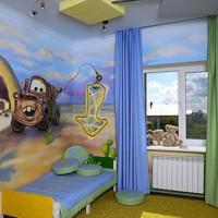шторы в детскую комнату для мальчика фото 40