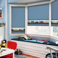шторы в детскую комнату для мальчика фото 7