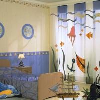 шторы в детскую комнату для мальчика фото 8