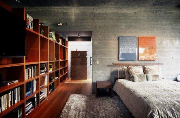 комната в стиле лофт фото