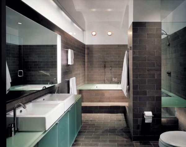 ремонт ванной в стиле лофт фото