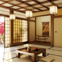 интерьер в японском стиле фото 26